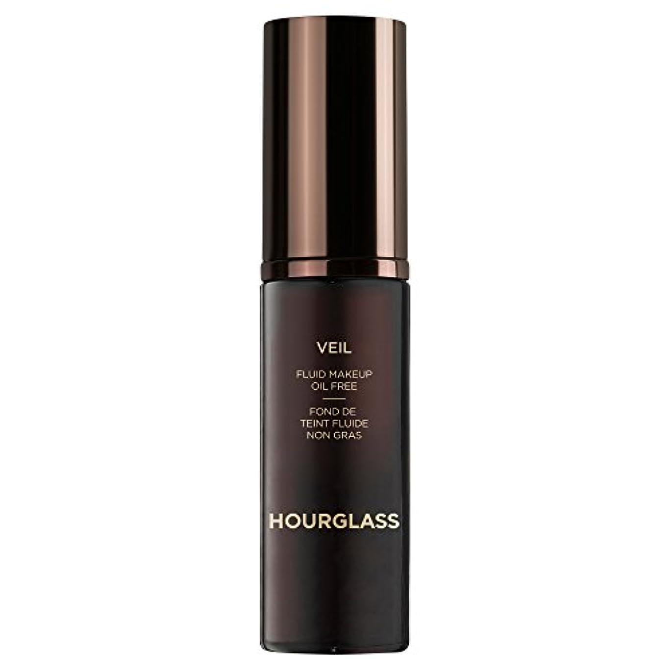 是正パフ勇気クロテン砂時計ベール流体メイクアップ (Hourglass) - Hourglass Veil Fluid Makeup Sable [並行輸入品]