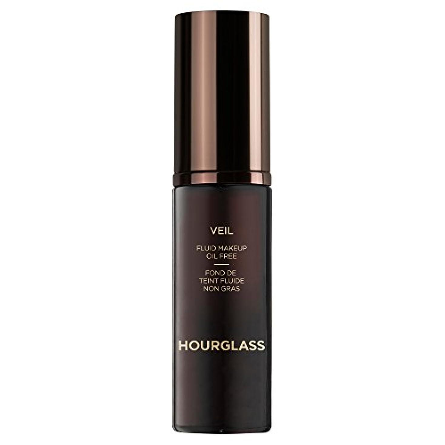 ロデオ困惑するベスビオ山流体化粧アイボリーベール砂時計 (Hourglass) - Hourglass Veil Fluid Makeup Ivory [並行輸入品]
