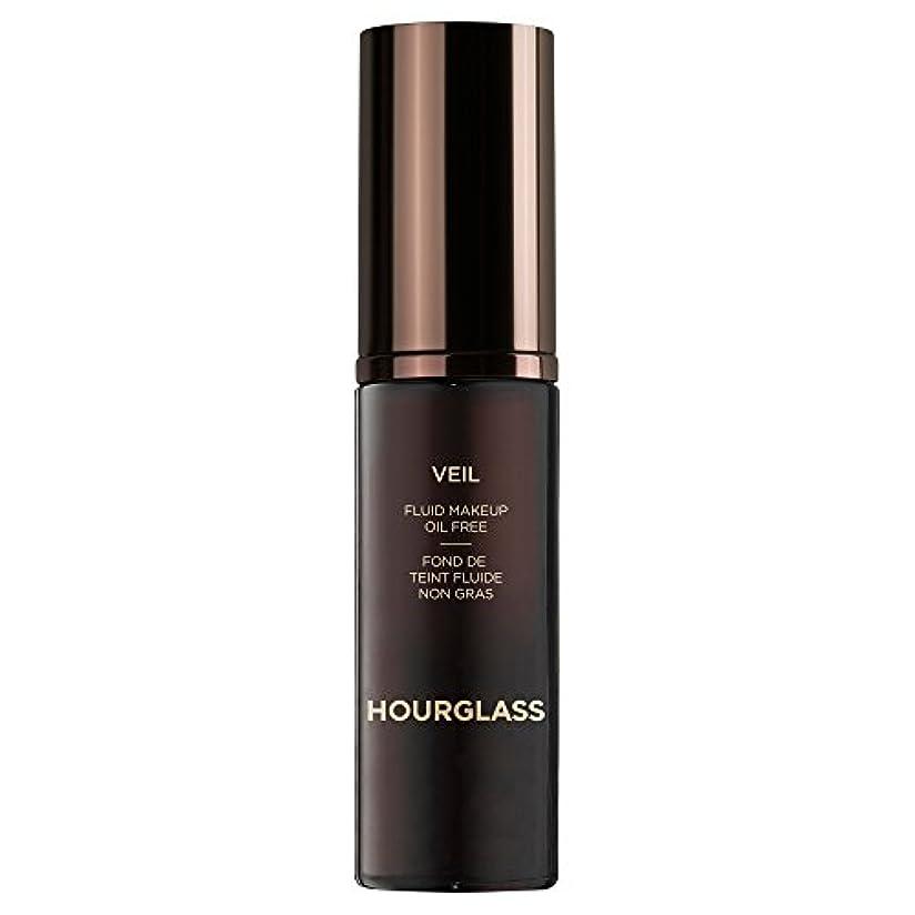 キャップ平手打ち抑制砂時計のベール流体化粧クルミ (Hourglass) (x2) - Hourglass Veil Fluid Makeup Walnut (Pack of 2) [並行輸入品]