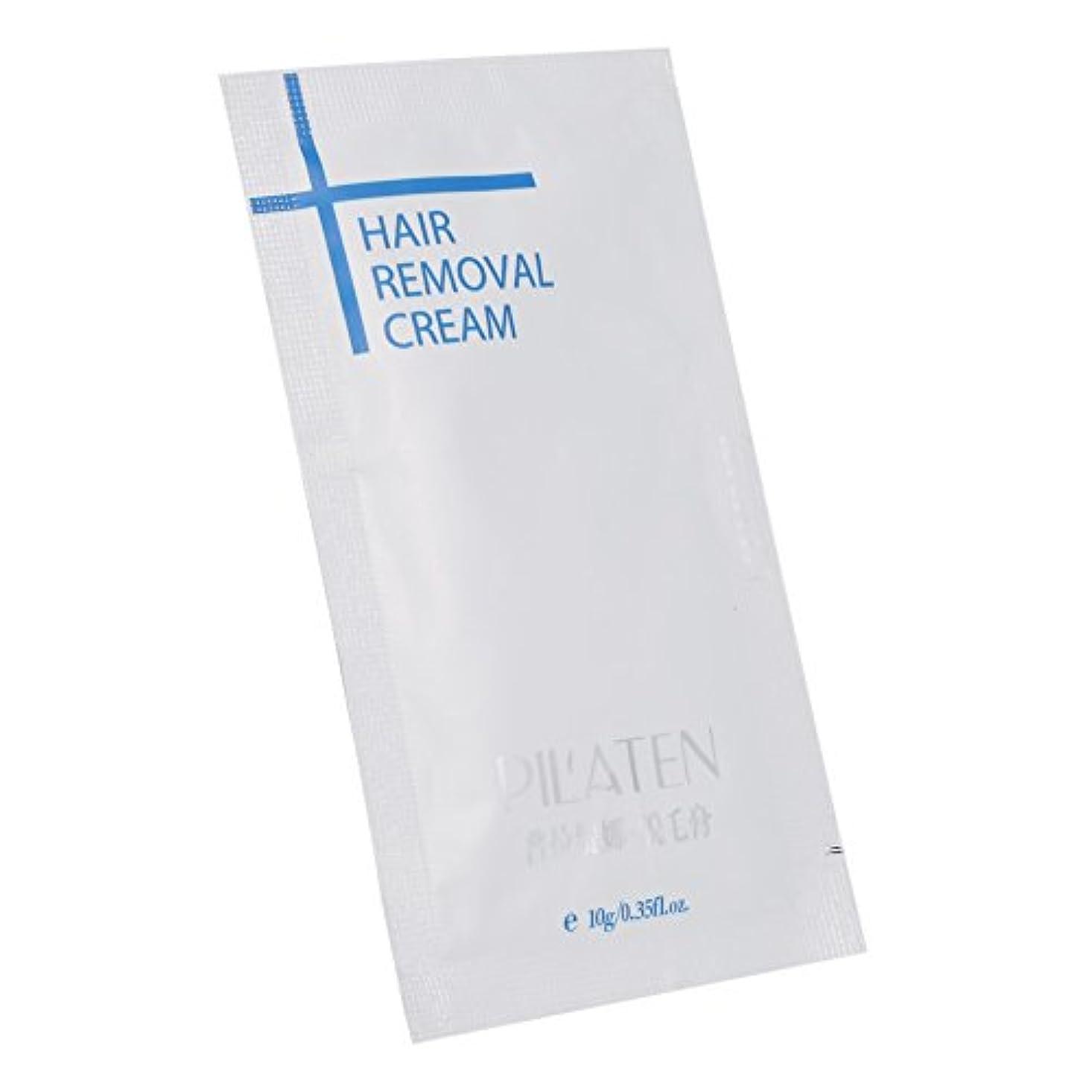 喉が渇いた適度な例脱毛クリーム、10個の女性の女性の脱毛クリーム脇の下の脚アームのボディの健康美容脱毛ペースト (1Pc)