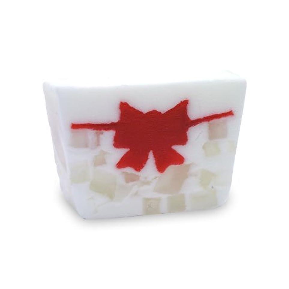 幻想適応的活性化するプライモールエレメンツ アロマティック ミニソープ クリスマスリボン 80g 植物性 ナチュラル 石鹸 無添加
