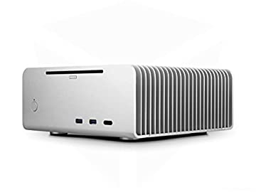 Streacom FC8 Silver ALPHA with Optical Drive