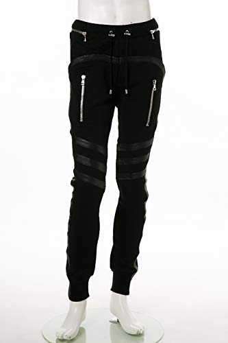 (バルマン) BALMAIN トレーナーパンツ スウェットパンツ ブラック メンズ (W8H 5189 J928C) 【並行輸入品】