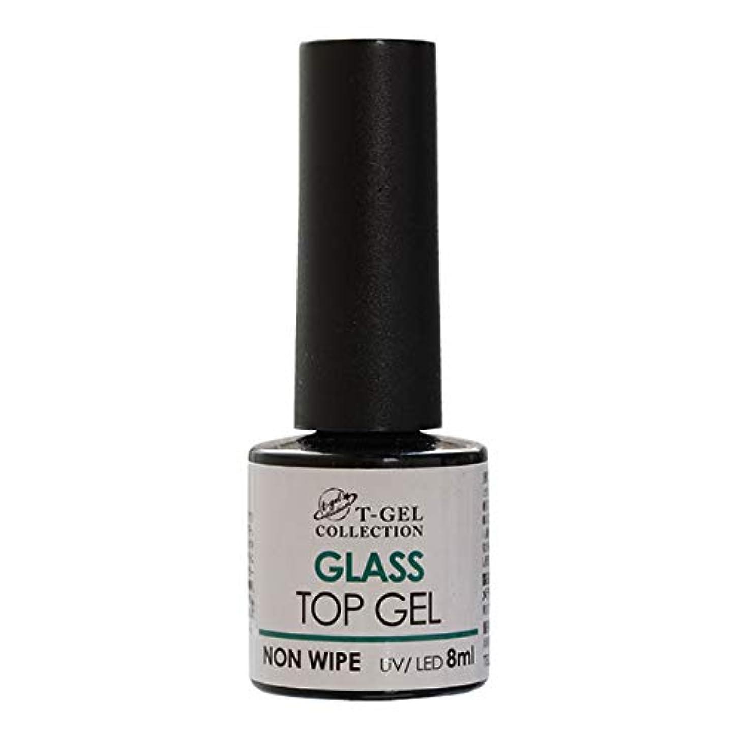 【NEW】T-GEL COLLECTION グラストップジェル(ノンワイプ) 8ml