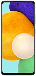 SAMSUNG SM-A526BZWGXSP Galaxy A52 5G (128GB) Awesome Light White