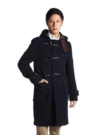 Monty Duffle Coat J8134: Navy