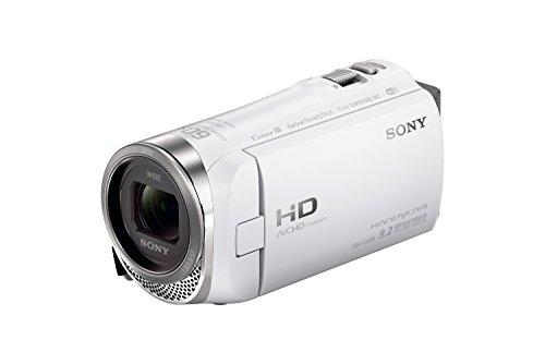 ソニー SONY ビデオカメラ HDR-CX485 32GB  光学30倍 ホワイト Handycam HDR-CX485 WC