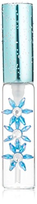 手がかり偽造暴徒ガラスアトマイザー スターフラワー 18192 ブルー  5ml