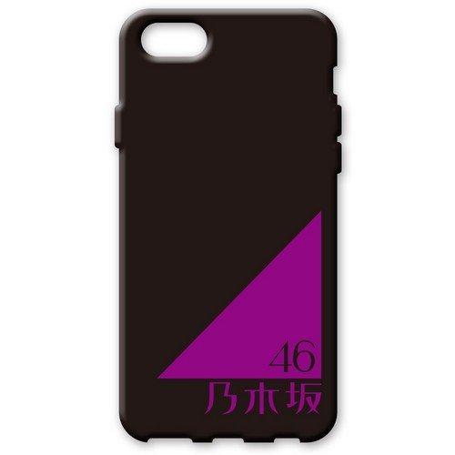 iPhone7 ソフトケース 《乃木坂46》 黒/ロゴ...