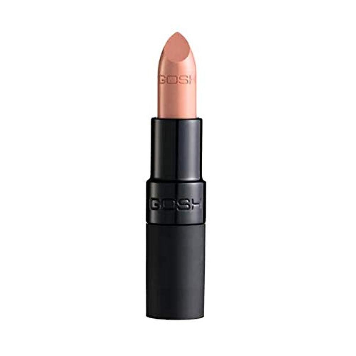 額相談するベギン[GOSH ] おやっベルベットタッチ口紅マット赤ちゃんの唇001 - Gosh Velvet Touch Lipstick Matte Baby Lips 001 [並行輸入品]