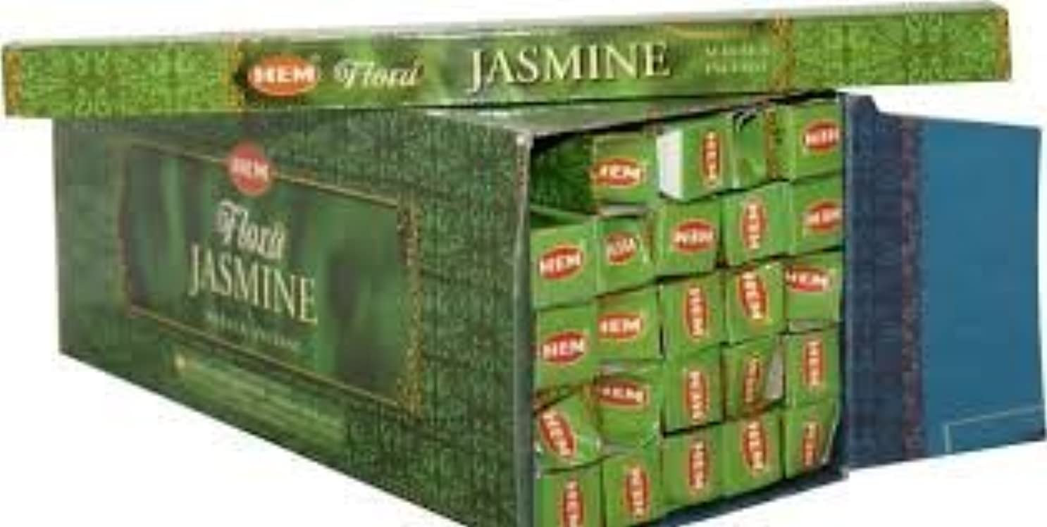 科学的彼工場Jasmine Supreme Scented Incense (Agarbatti) - (100 Gram Pack)