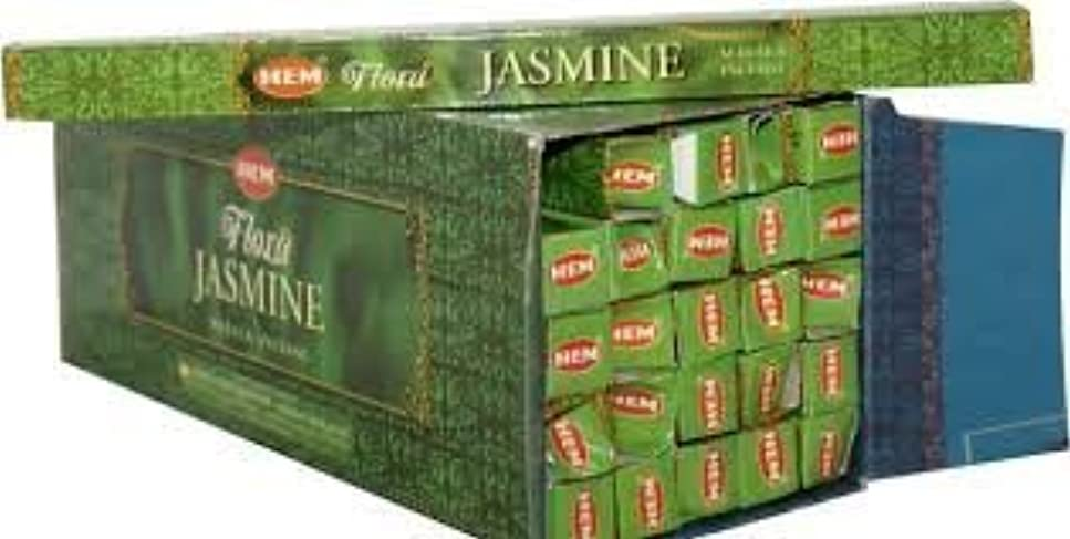 保険をかける場所無駄なJasmine Supreme Scented Incense (Agarbatti) - (100 Gram Pack)