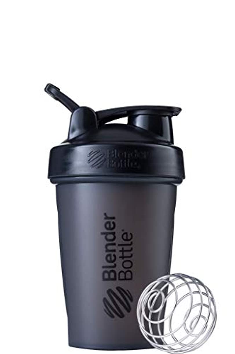 ペグジャグリング生物学ブレンダーボトル 【日本正規品】 ミキサー シェーカー ボトル Classic 20オンス (600ml) ブラック BBCLE20 FCBK