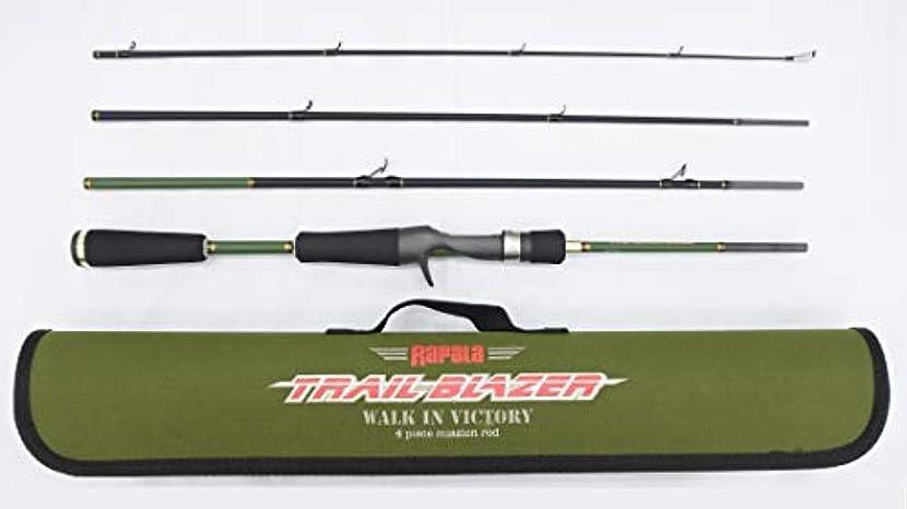 自分を引き上げる微視的近々ラパラ(Rapala) トレイルブレイザー 4ピース パックロッド TBC664MRF Trail Blazer Rod TBC664MRF