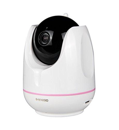 E-enemo ネットワークカメラ WIFI接続 100万画素 暗視 スマホ対応 防犯/介護/ペット/赤ちゃんの見守りに おうち安心かしこいカメラ HC02