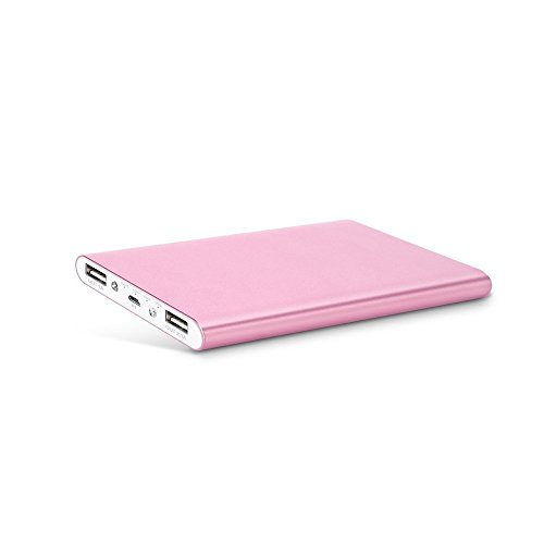 Mabox モバイルバッテリー 大容量 スマホ急速充電器 8000mAh 2USBポート iPhone6/iPhone6s/iPhone5 5s 5c/iPod/iPad/Xperia/Nexus/Sony等対応(ピンク)