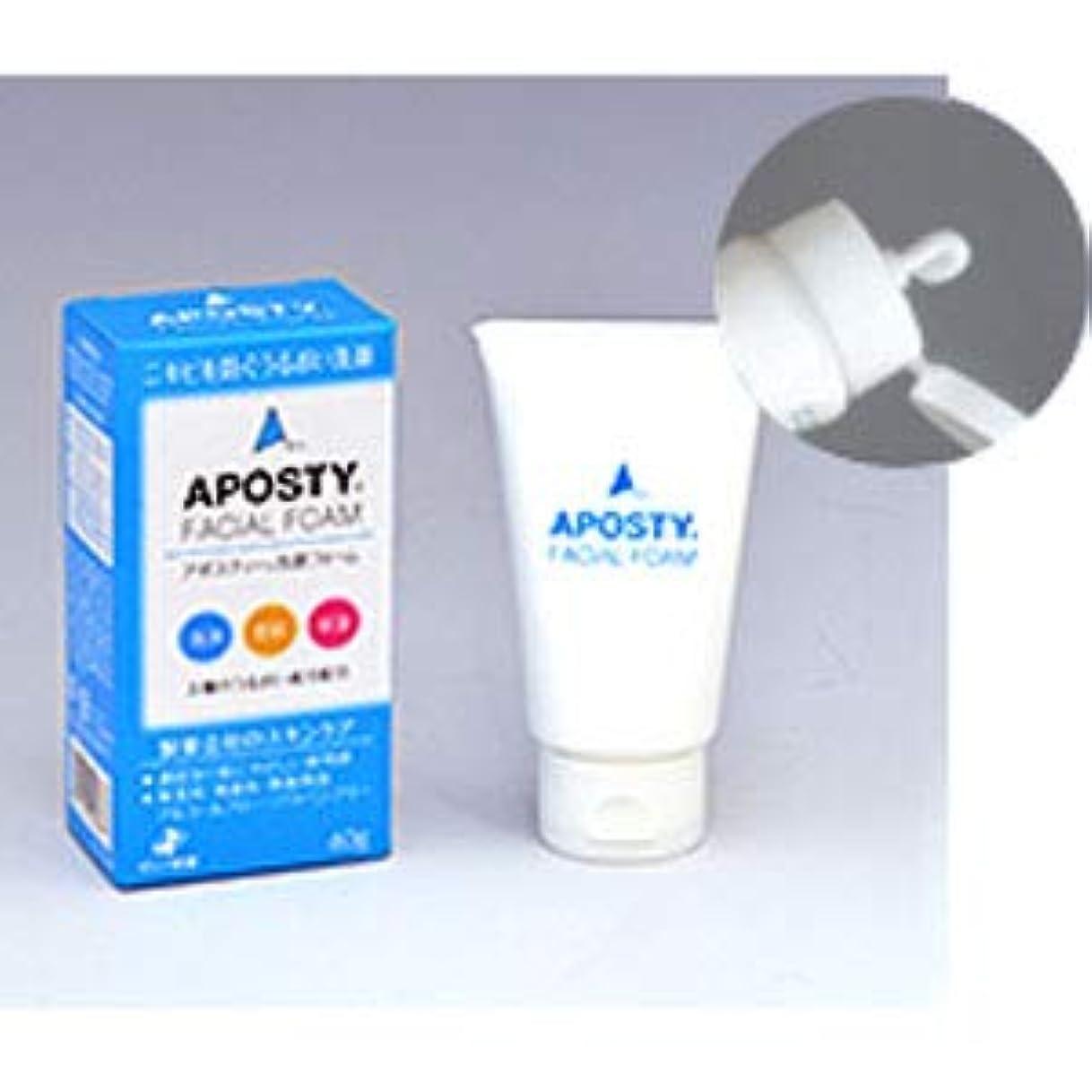 アーク切り下げ確認するアポスティー洗顔フォーム 60g×2個