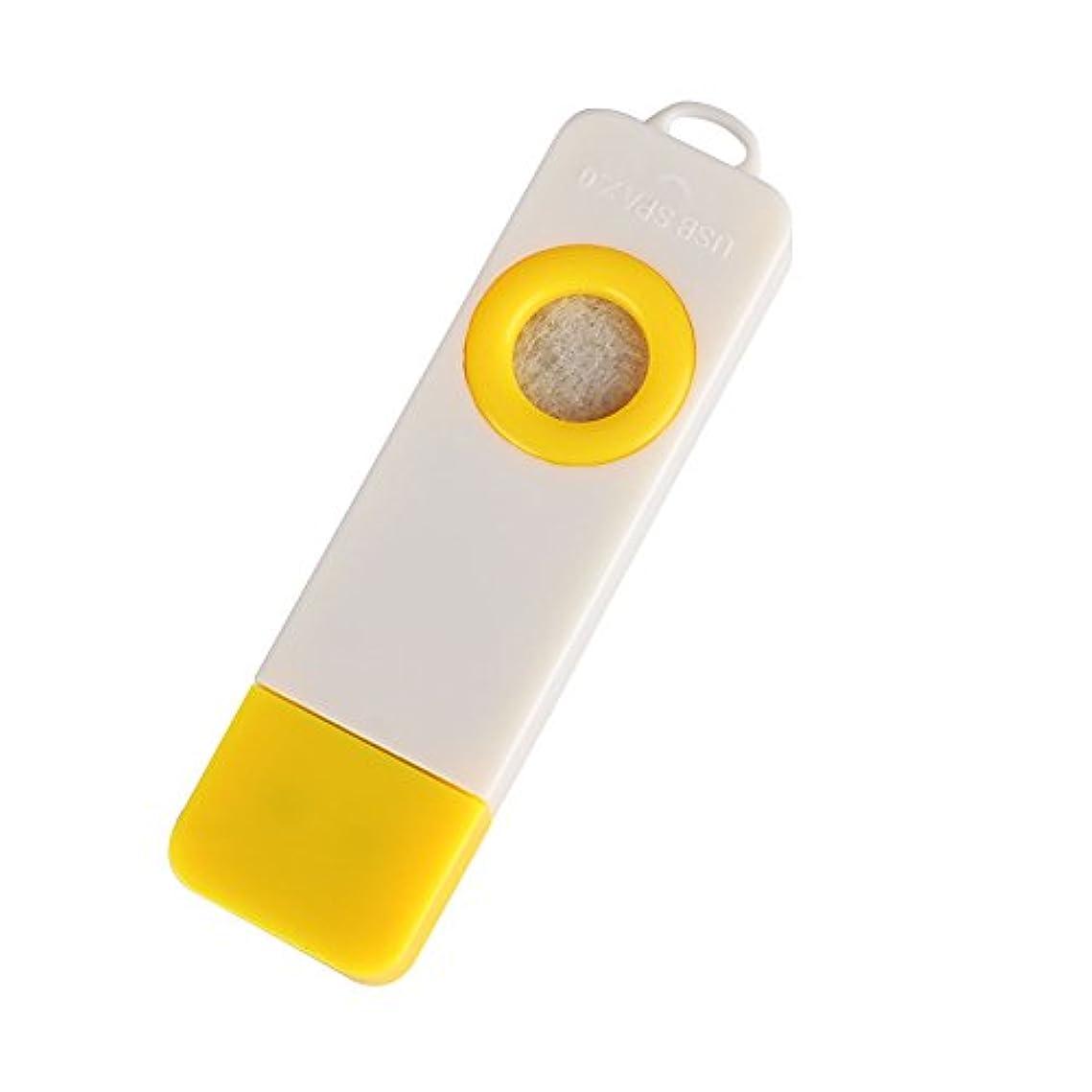 TOPmountain ファッションミニ USBアロマセラピーディフューザー ポータブル自動香 カーアクセサリーアクセサリー ホームアロマセラピー 健康アロマ オイル加湿器