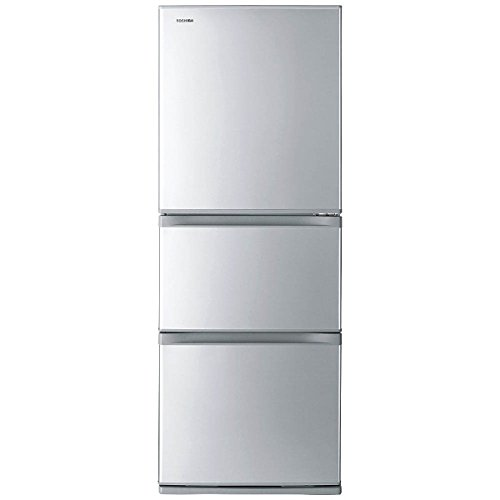 東芝 冷凍冷蔵庫 VEGETA シルバー 右開き 330L G...