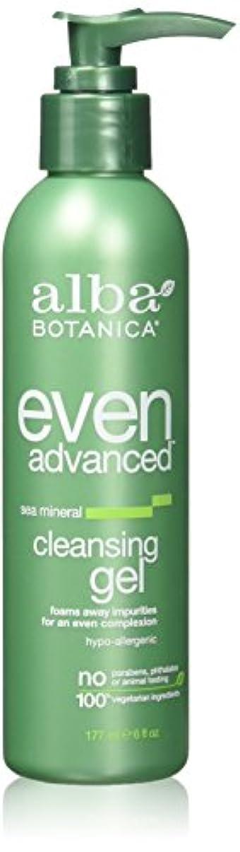 製油所最大の書誌Alba Botanica, Even Advanced, Cleansing Gel, Sea Mineral, 6 fl oz (177 ml)