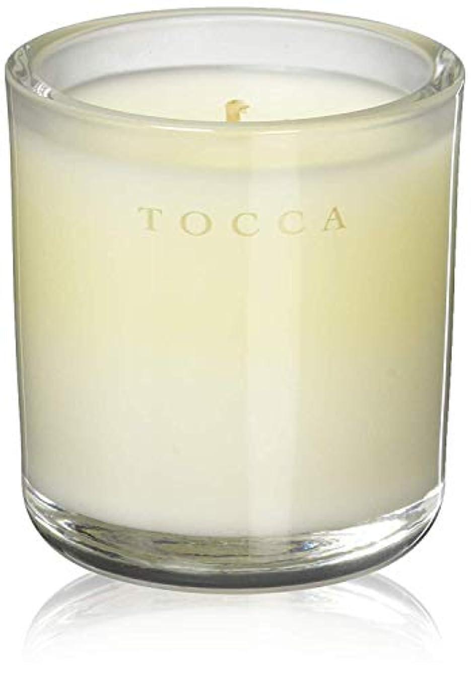植物学者持参傾くTOCCA(トッカ) ボヤージュ キャンデリーナ マラケシュ 85g (ろうそく 芳香 パチュリとアンバーのスパイシーな香り)