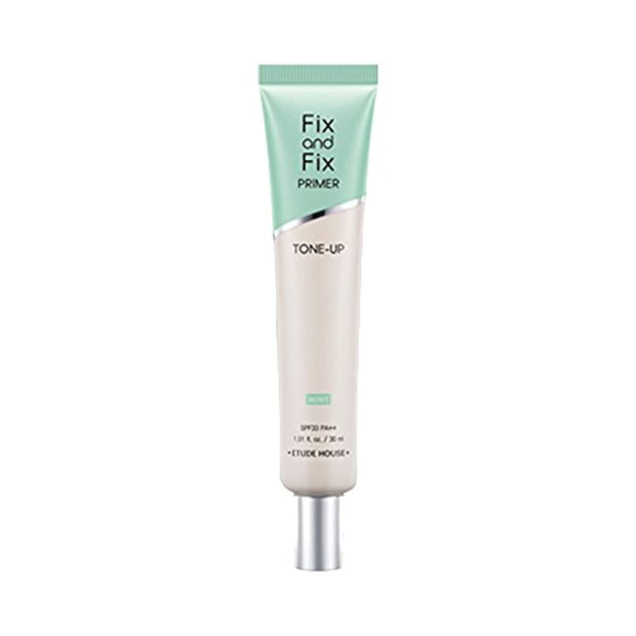 高音一目できない(3 Pack) ETUDE HOUSE Fix And Fix Primer Tone Up Primer - Mint (並行輸入品)