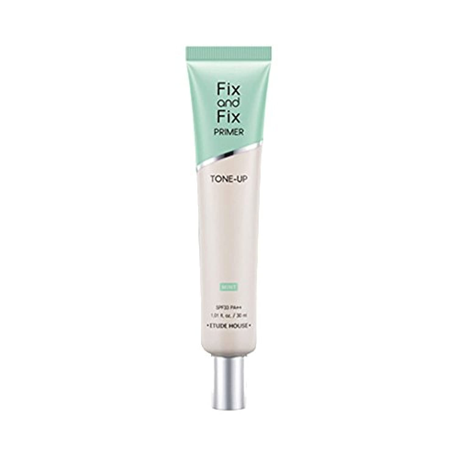 (3 Pack) ETUDE HOUSE Fix And Fix Primer Tone Up Primer - Mint (並行輸入品)