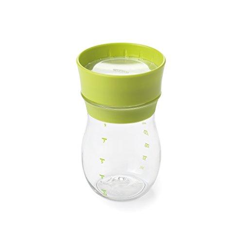 OXO Tot グロウ トレーニングカップ グリーン コップ飲み 練習 ベビーマグ 水分補給 9カ月から 290ml FDOX6187901