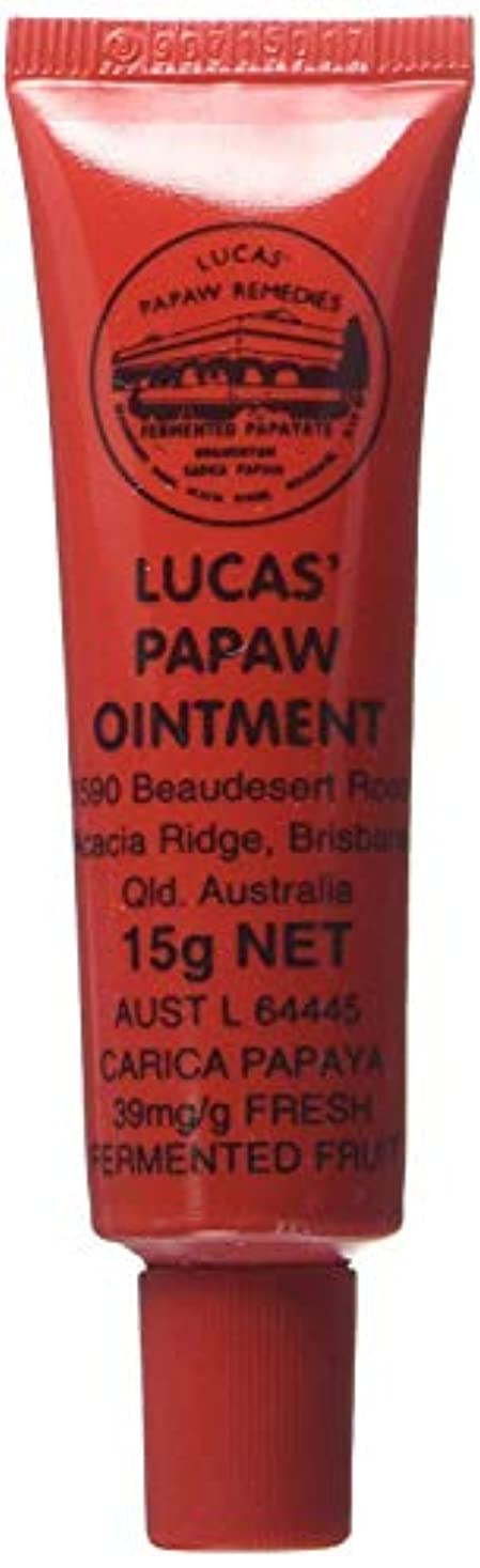 第二に警察症候群LUCAS' PAPAW OINTMENT リップ アプリケータータイプ 15g