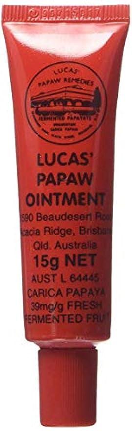 霧確保する突然LUCAS' PAPAW OINTMENT リップ アプリケータータイプ 15g