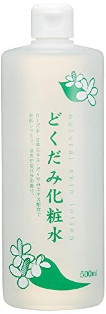 海外くつろぎメンバーちのしおどくだみ化粧水 500ml × 24個セット