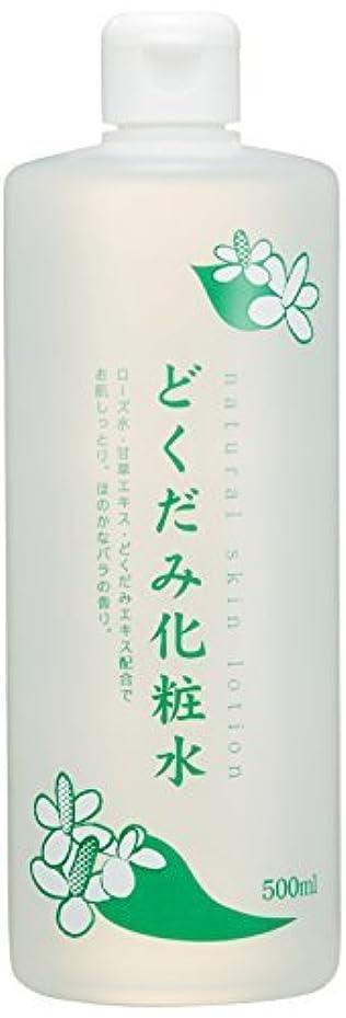 列挙する刈り取る使い込むちのしおどくだみ化粧水 500ml × 12個セット