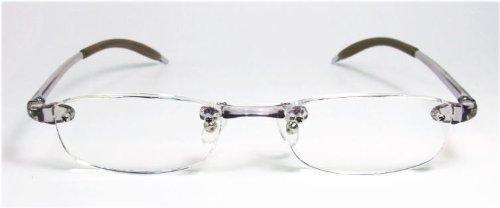 メガネで5歳若返る ♯超弾性老眼鏡リーディンググラス (S+2.00)