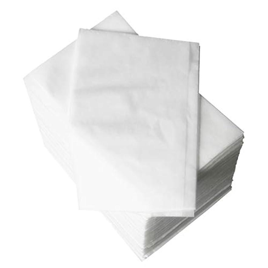 設置会話型疑問を超えてP Prettyia 使い捨てベッドシーツ 美容シーツ 約80 x 180 cm 約100個 全2色 - 白