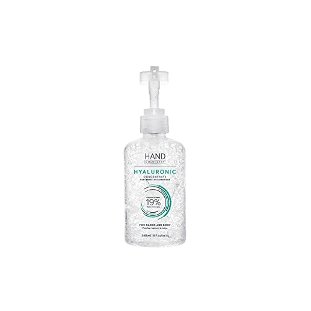 HAND CHEMISTRY Hyaluronic Concentrate (240ml) (Pack of 6) - 手の化学ヒアルロン濃縮物(240ミリリットル) x6 [並行輸入品]