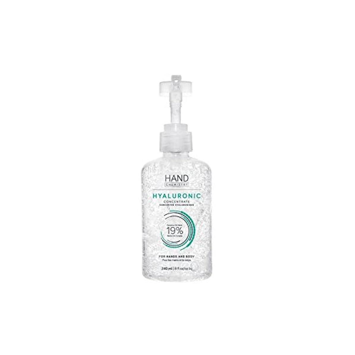 細心の前提条件微生物HAND CHEMISTRY Hyaluronic Concentrate (240ml) (Pack of 6) - 手の化学ヒアルロン濃縮物(240ミリリットル) x6 [並行輸入品]
