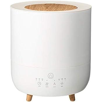スリーアップ ハイブリッド式(加熱+超音波)加湿器(10畳まで ホワイト)Three-up Fog Mist(フォグミスト) HB-T1953WH