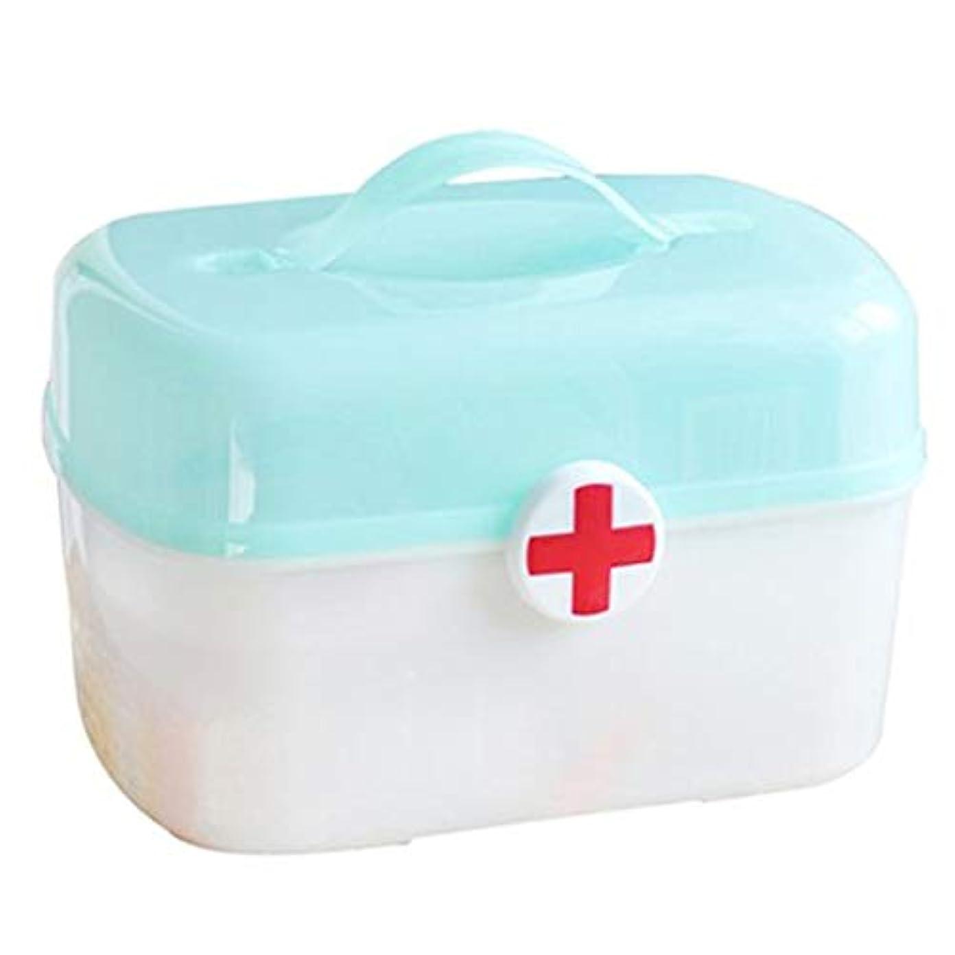 爬虫類スズメバチダイバーLLSDD プラスチック薬箱薬収納ボックスポータブル救急箱家庭用薬収納ボックス