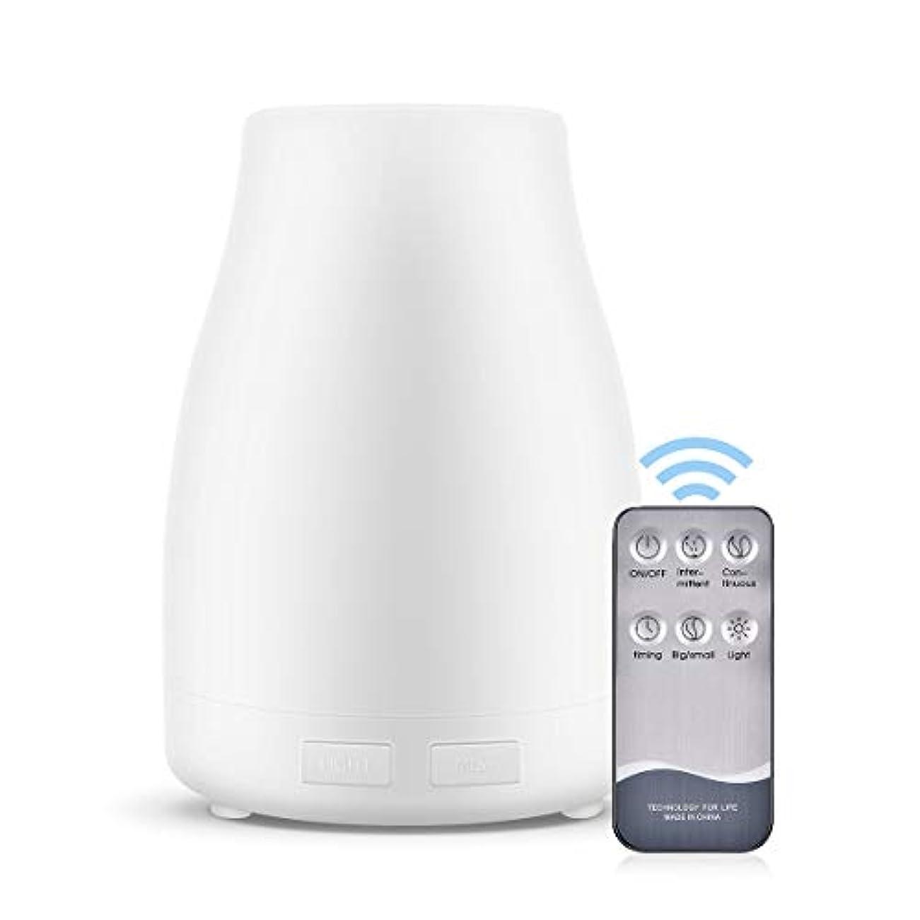 否認する配列誤解するアロマセラピーエッセンシャルオイルディフューザー加湿器300 MLリモートコントロール自動シャットオフタイマー設定と超音波冷気ミスト加湿器,UKplug