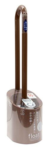 ヨコズナ float フロート 磁石の力で空中収納! トイレクリーナー&ケース ブラウン 1個 ヨコズナクリエーション
