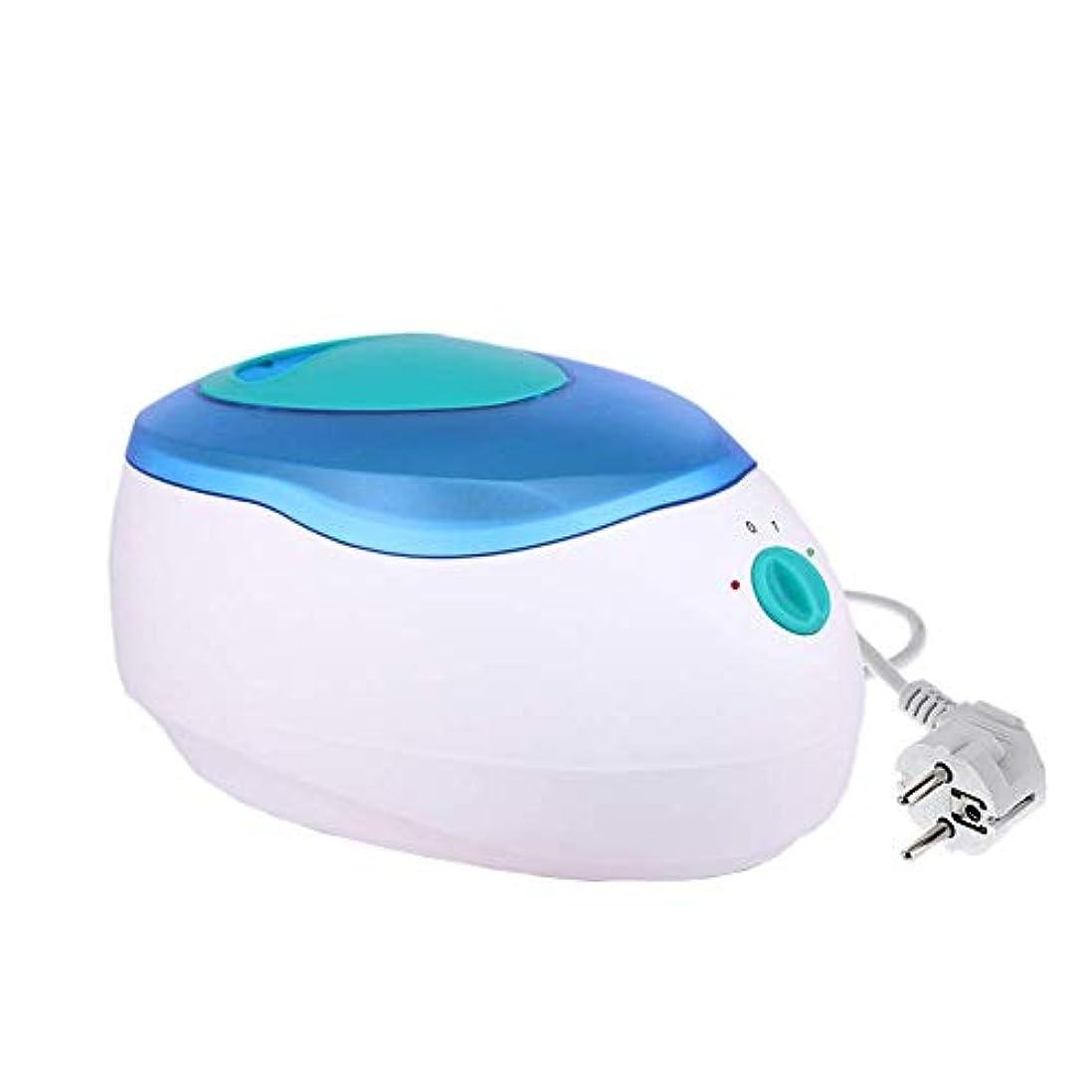 手のひら南名門すべてのワックスタイプのための専門の電気ワックスヒーター、ワックスメルター可変温度とウォーマーと内蔵サーモ安全制御脱毛脱毛のために (Color : Blue)