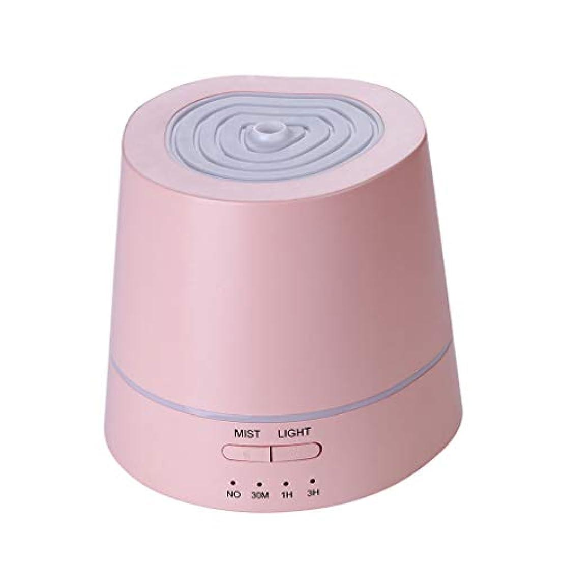 歩き回る追い付く麺アロマテラピーマシン、アロマエッセンシャルオイルディフューザー超音波アロマテラピーマシン加湿器加湿器アトマイザー3タイマー設定&7色RGBグラデーションライト