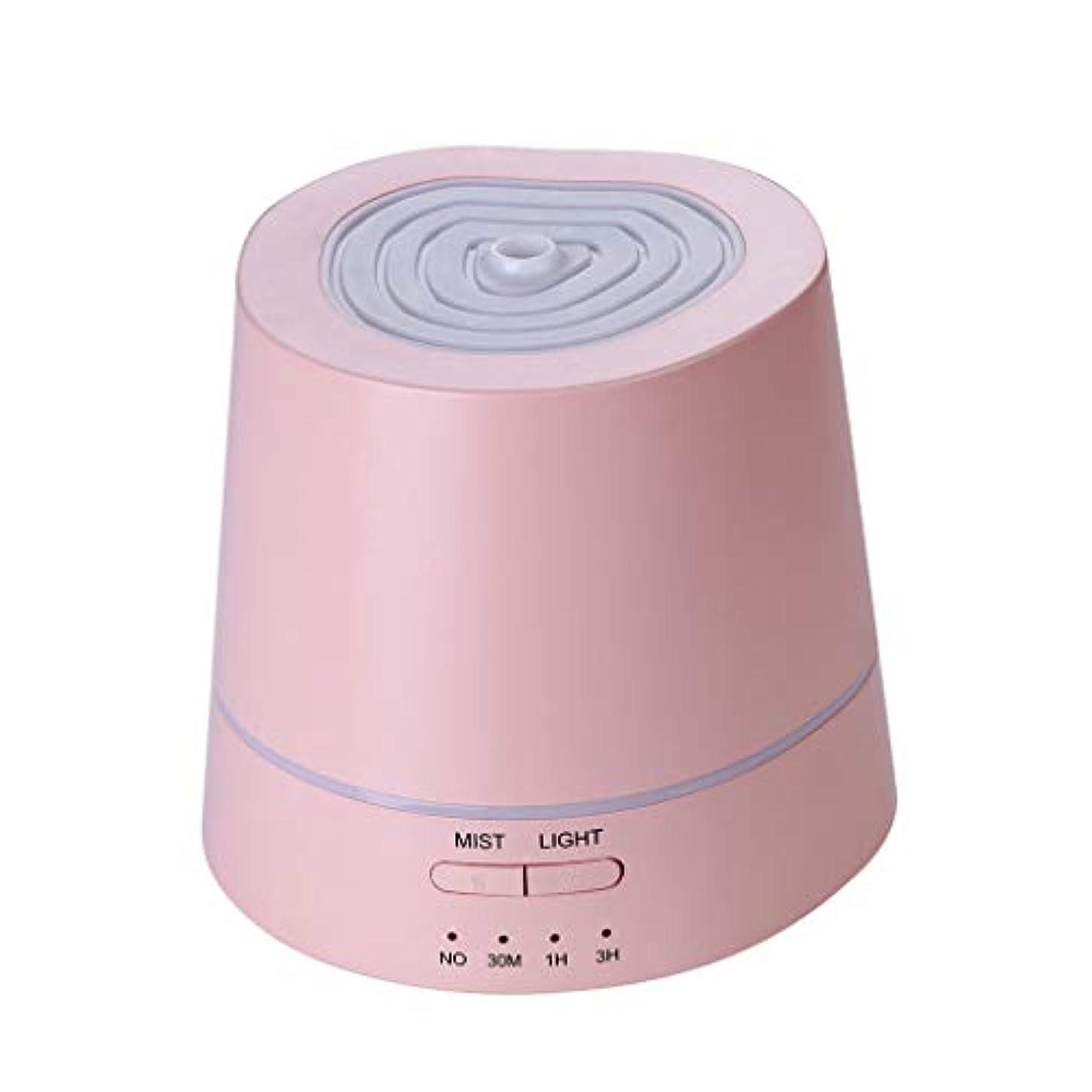 できる資本主義バタフライアロマテラピーマシン、アロマエッセンシャルオイルディフューザー超音波アロマテラピーマシン加湿器加湿器アトマイザー3タイマー設定&7色RGBグラデーションライト
