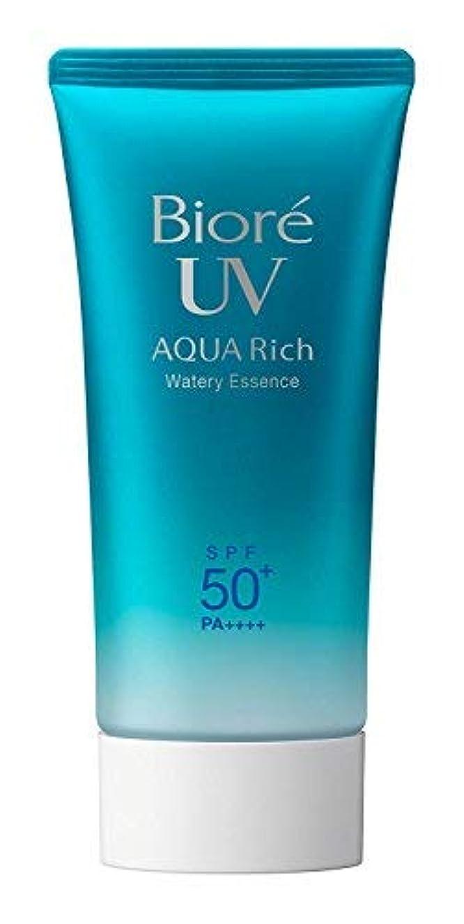 スラックどうやって水っぽい【まとめ買い】ビオレ UV アクアリッチ ウォータリーエッセンス SPF50+ 50g ×3個