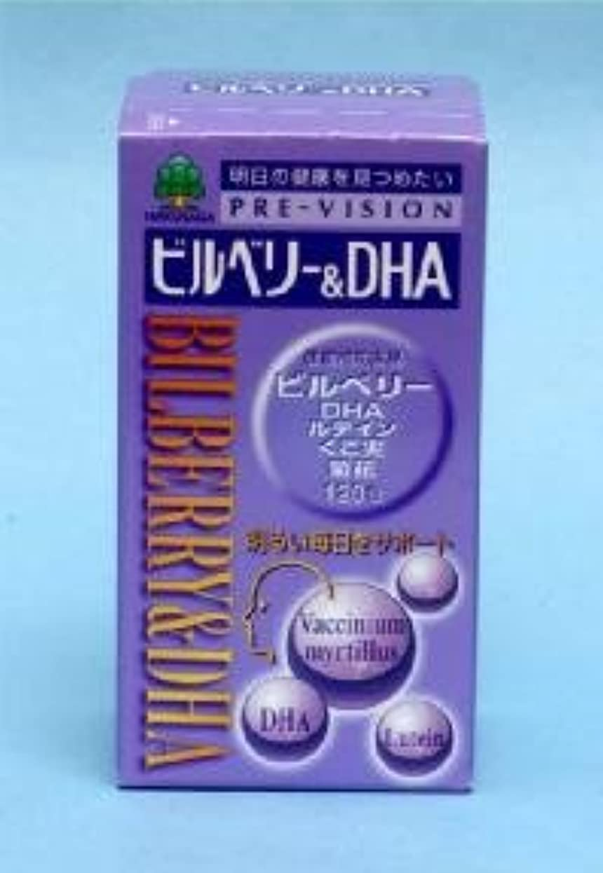潤滑する他のバンドで歯ビルベリー&DHA 120粒 ×2個セット