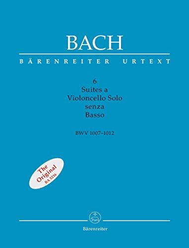 バッハ, J. S.: 無伴奏チェロ組曲 BWV 1007-1012:  ファクシミリ付/新バッハ全集にもとづく原典版/ベーレンライター社/チェロ・ソロ