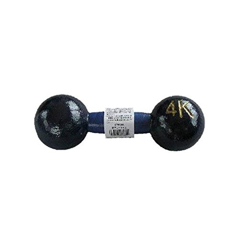 輪郭見込みディスク鉄アレー ダンベル 4kg 1個 NK8041