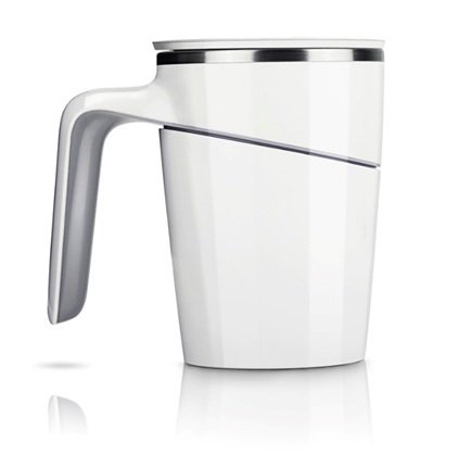 Bijou Cat 倒れないマグカップ Mug Cup 470ml ホワイト