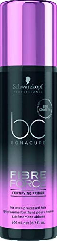 政権不忠処方するシュワルツコフ BC Bonacure Fibre Force Fortifying Primer (For Over-Processed Hair) 200ml/6.7oz並行輸入品