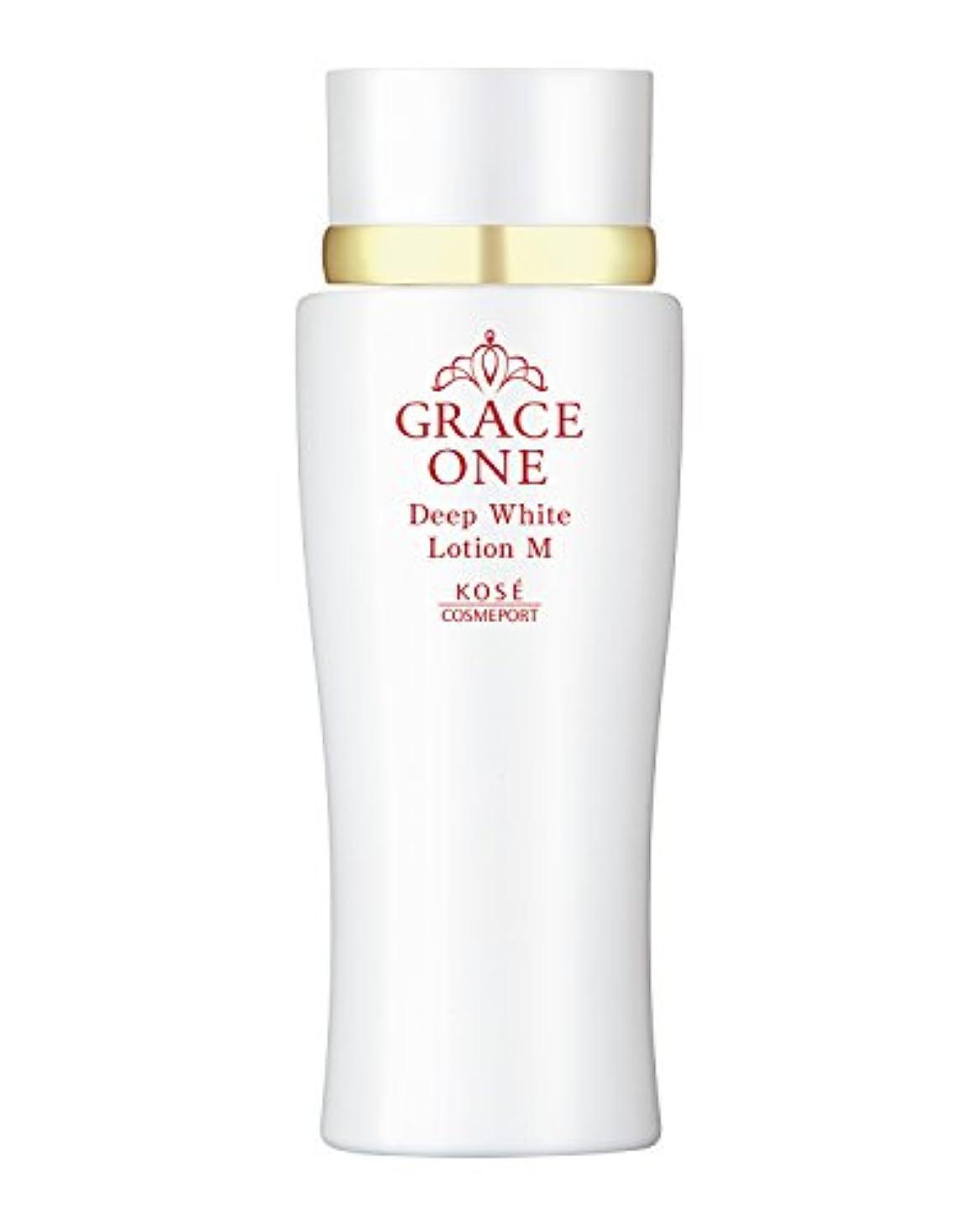 アミューズ概してマスク(医薬部外品) KOSE コーセー グレイスワン 薬用美白 ディープホワイト ローション (しっとり 化粧水) 180ml